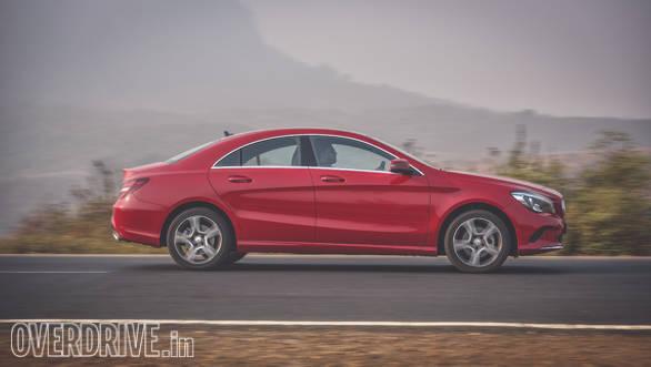 Audi A3 Petrol vs Mercedes CLA 200 (137)