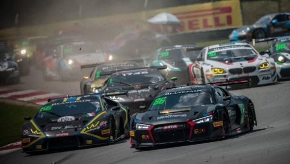 Blancpain GT Series Asia Rd 1 Race 2 Aditya Patel Sepang