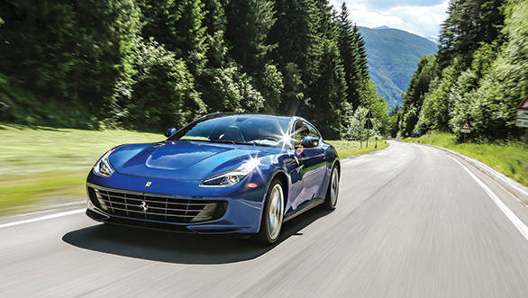 Ferrari GTC4Lusso first drive review
