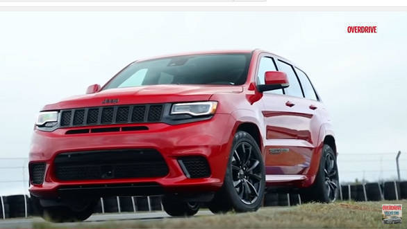 First look: 2017 Jeep Grand Cherokee Trackhawk