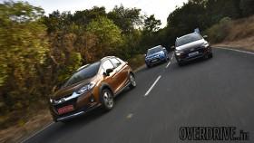 Comparison: Honda WR-V vs Hyundai i20 Active vs Maruti Suzuki Vitara Brezza