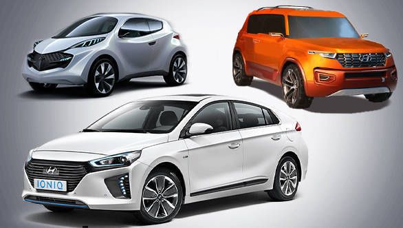 Hyundai to bring in three all-new cars to India by 2020