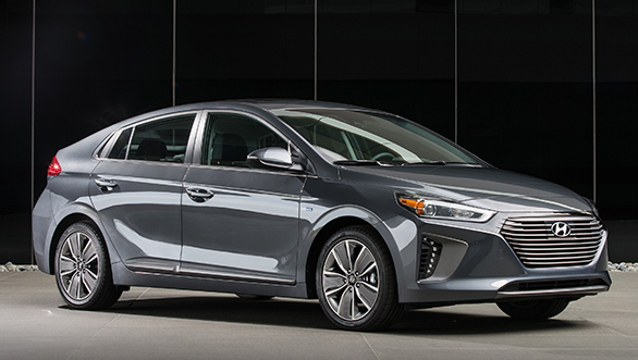 Hyundai Ioniq to be showcased at the 2018 Auto Expo