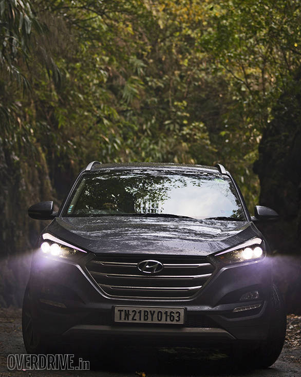 The Hyundai Tucson's design is absolutely stunning and it always manages to make heads turn