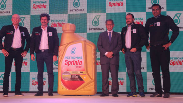 Petronas Sprinta F900 motorcycle engine oil launched in India