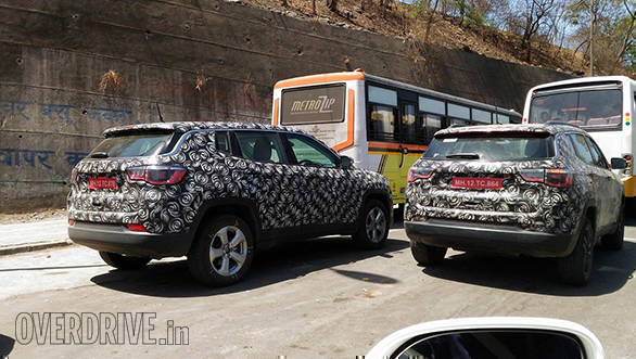 Spied: Jeep Compass spotted testing in India ahead of August launch