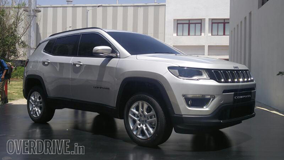Jeep Compass unveiled in India, feature and specification details out