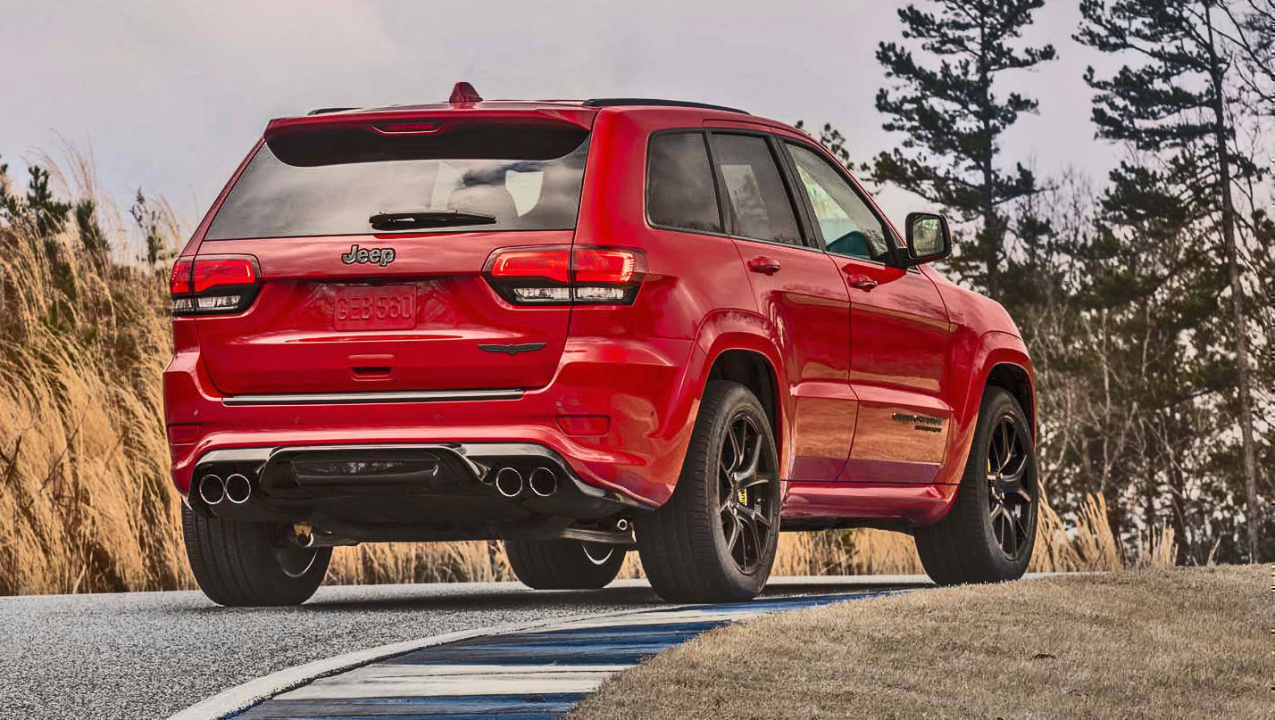 jeep grand cherokee trackhawk is the fastest suv ever made overdrive. Black Bedroom Furniture Sets. Home Design Ideas