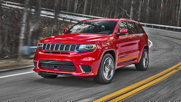 Jeep Grand Cherokee Trackhawk is the fastest SUV ever made