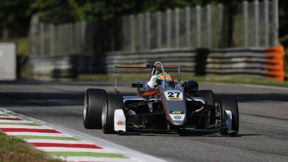 Jehan Daruvala claimed pole for Race 1 of Round 2 of the FIA Formula 3 European Championship at Monza