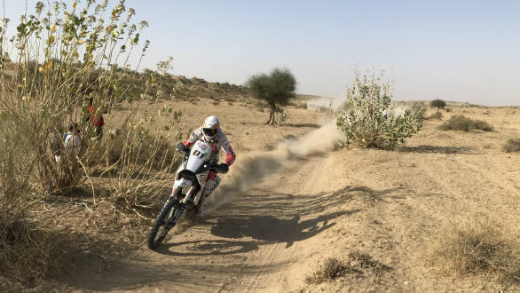 India Baja 2017: Hero MotoSports Team Rally's Joaquim Rodrigues wins the Moto Class