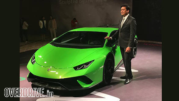 Lamborghini Huracan Performante launched in India at Rs 3.97 crore