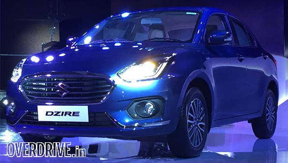 All-new Maruti Suzuki Dzire unveiled in India