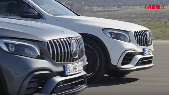 Mercedes-AMG GLC 63 4Matic+ and GLC 63 4Matic+ Coupe unveiled