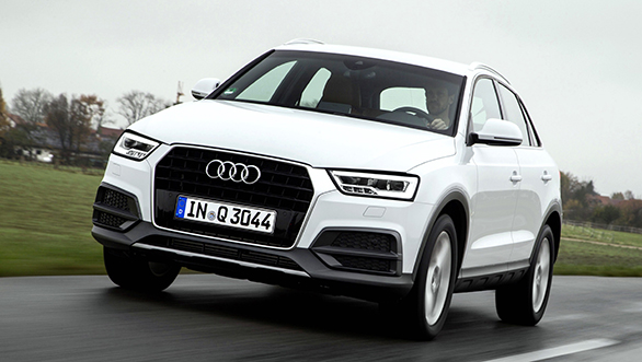 Audi launches the Q3 1.4 TFSI in India at Rs 32.20 lakh