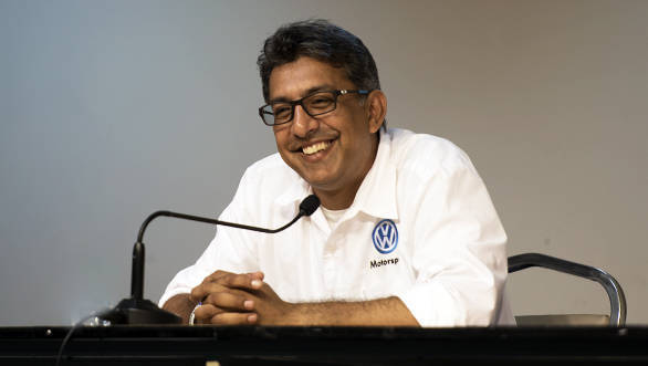 Sirish Vissa, head, VW Motorsport India