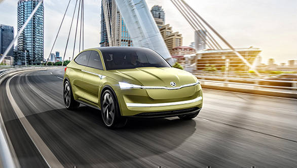 2017 Shanghai Auto Show: Skoda Vision E concept is brand's first all-electric car