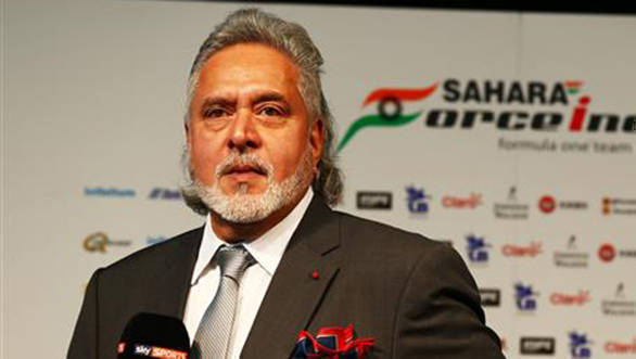 Vijay Mallya no longer India's representative at the FIA