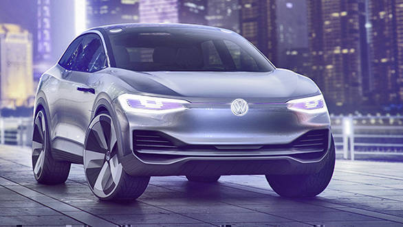 2017 Shanghai Auto Show: Volkswagen I.D. Crozz electric SUV concept unveiled