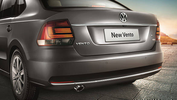 Volkswagen Vento Highline Plus rear