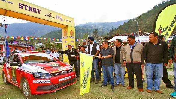 2017 JK Tyre Arunachal Festival of Speed: Amanpreet Ahulawalia leads after Day One