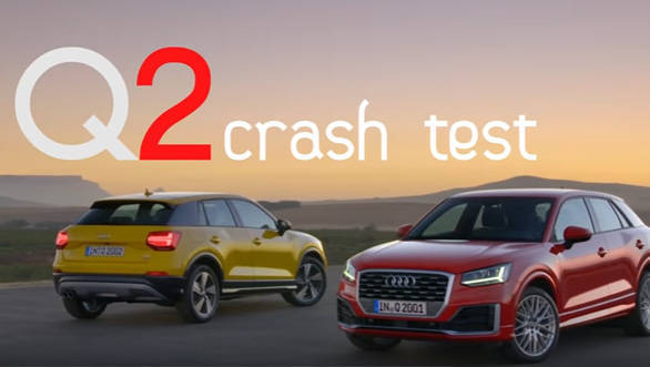 India-bound Audi Q2 scores 5-stars in crash test