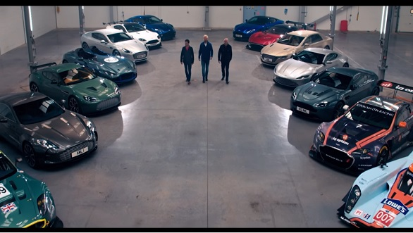 Video worth watching: Gorgeous Aston Martins on an airbase