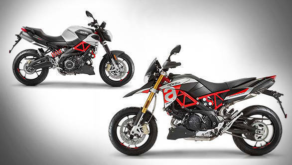 2017 Aprilia Shiver 900 and Dorsoduro 900 launched in India