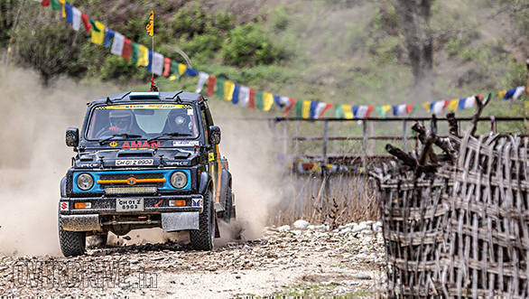 2017 JK Tyre Arunachal Festival of Speed: Due East