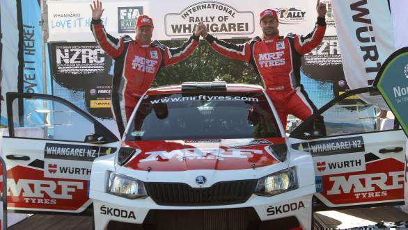 APRC 2017: Gaurav Gill seals victory at Rally of Whangarei