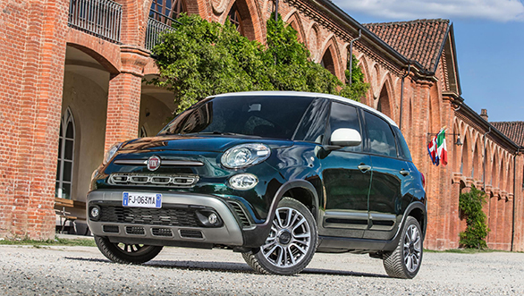 Fiat 500L facelifted with three new versions – Urban, Wagon and Cross