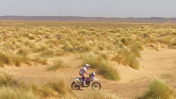 Merzouga Rally 2017: Hero MotoSports' Joaquim Rodrigues ends Stage 2 in ninth position