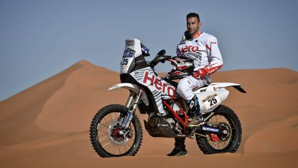 Joaquim Rodrigues is hoping to perform strongly at Merzouga, having recently won the 2017 India Baja