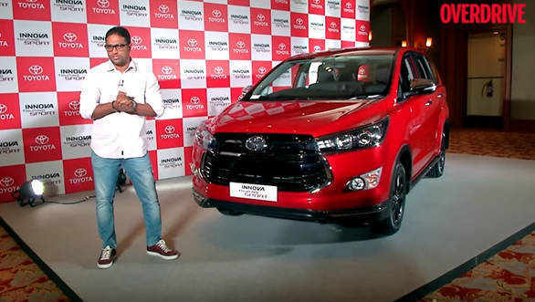 2017 Toyota Innova Crysta Touring Sport launched in India at Rs 17.79 lakh