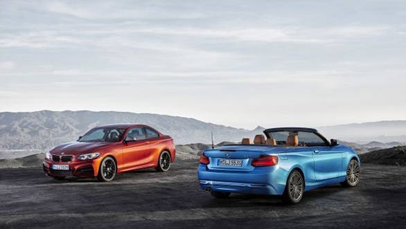 2018 BMW 2 Series coupe and convertible (2)
