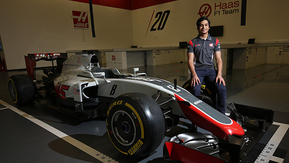 Arjun Maini signed by Haas F1 Team as development driver