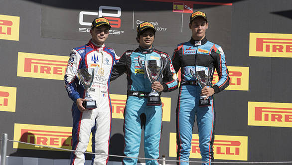2017 GP3: Arjun Maini claims maiden victory at Spain