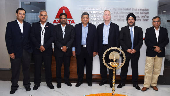 Axalta opens a new headquarters in India