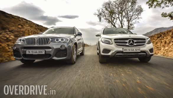 BMW X3 vs Mercedes GLC Comparo (3)