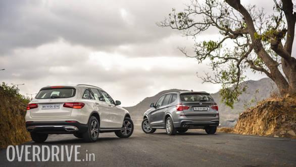 BMW X3 vs Mercedes GLC Comparo (67)