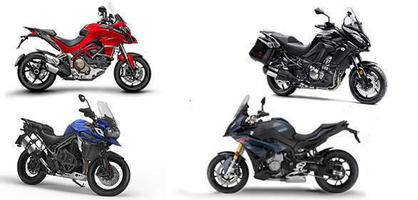 Spec comparison: BMW S 1000 XR vs Kawasaki Versys 1000 vs Suzuki V-Strom 1000 vs Triumph Tiger vs Ducati Multistrada 1200