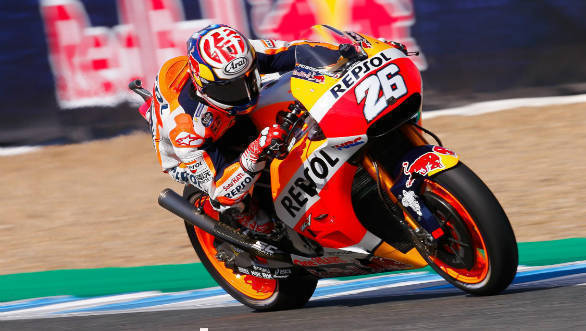 MotoGP 2017: Dani Pedrosa takes pole in Spain