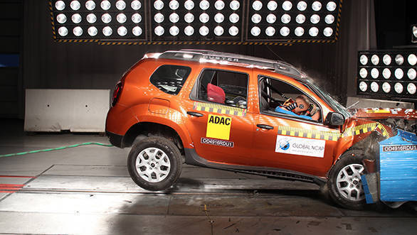 Renault Duster without driver side airbags