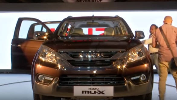First look review: 2017 Isuzu MU-X launched in India