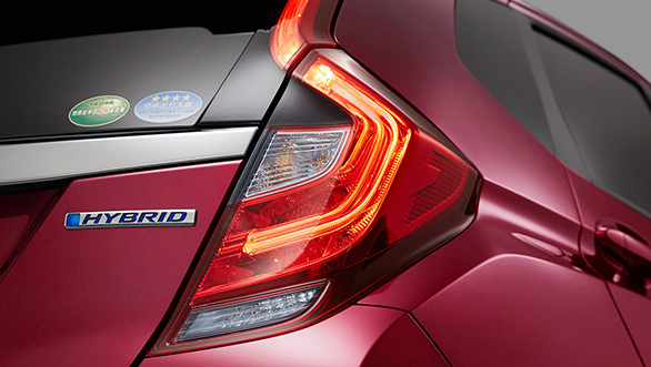 Honda Jazz facelift LED taillights