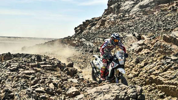 Merzouga Rally 2017: Hero MotoSports' Joaquim Rodrigues ends Stage 5 in fourth position