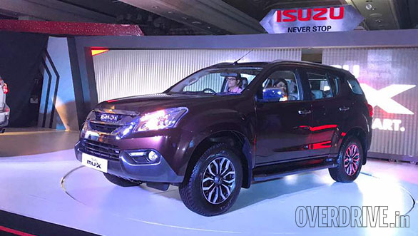 Isuzu MU-X launched in India at Rs 23.99 lakh