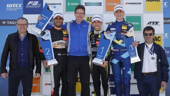 2017 FIA Formula 3 European Championship: Maiden podium for Jehan Daruvala