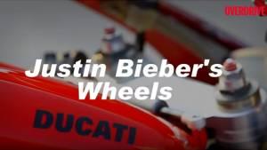 Justin Bieber's set of wheels