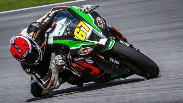 2017 Malaysian Superbike Championship: K Rajini takes third place in Race 1